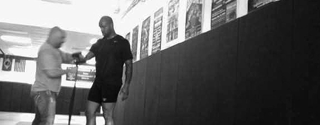 Marcedes Lewis – Off Season MMA Training