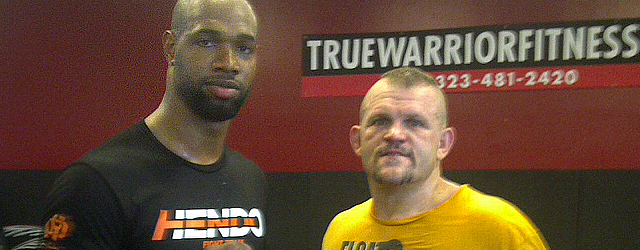 Marcedes Lewis Training With Chuck Liddell