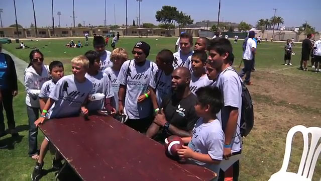Marcedes Lewis Football Camp Video 2011