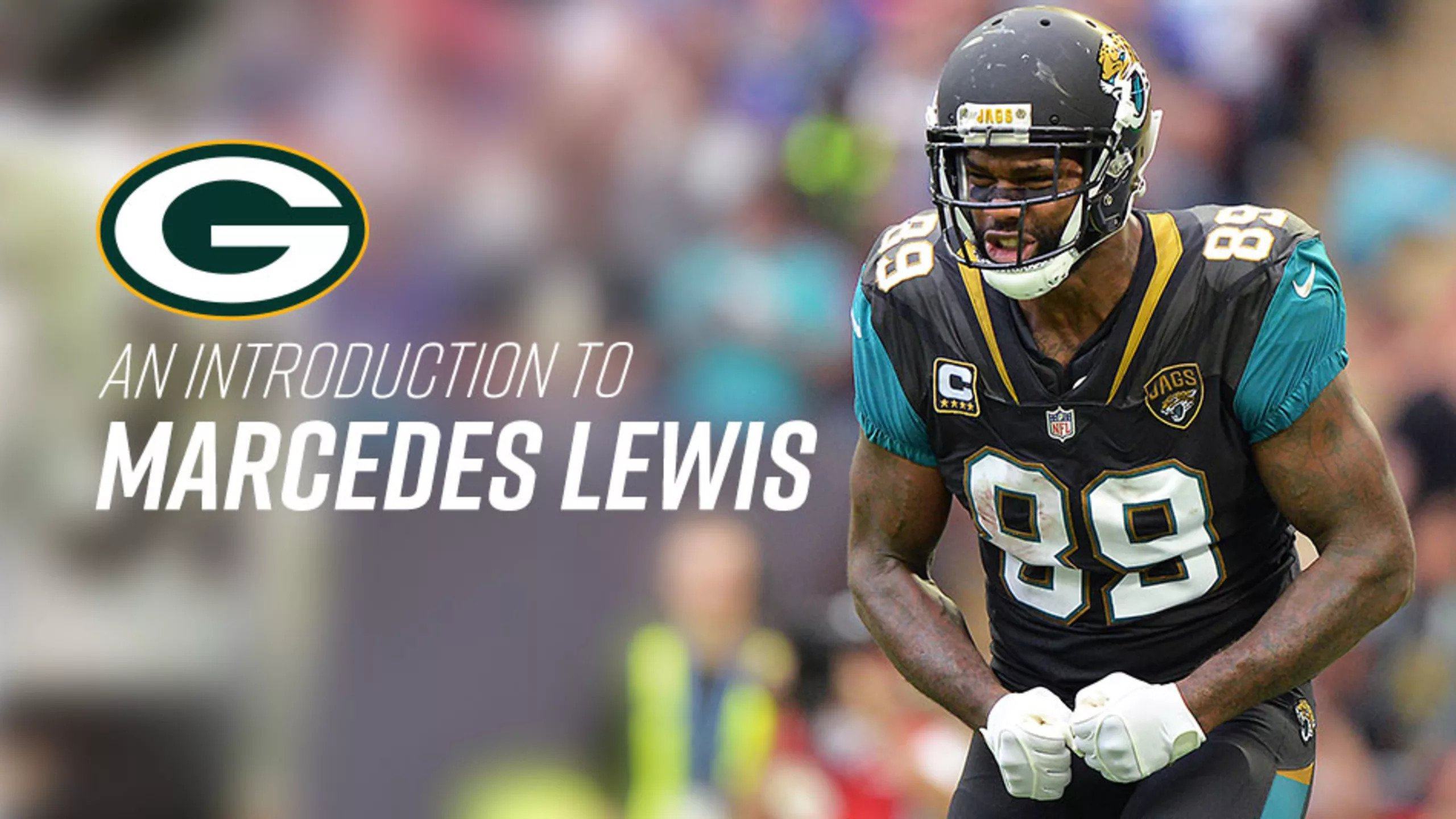 Introducing Marcdes Lewis to the Green Bay Packers